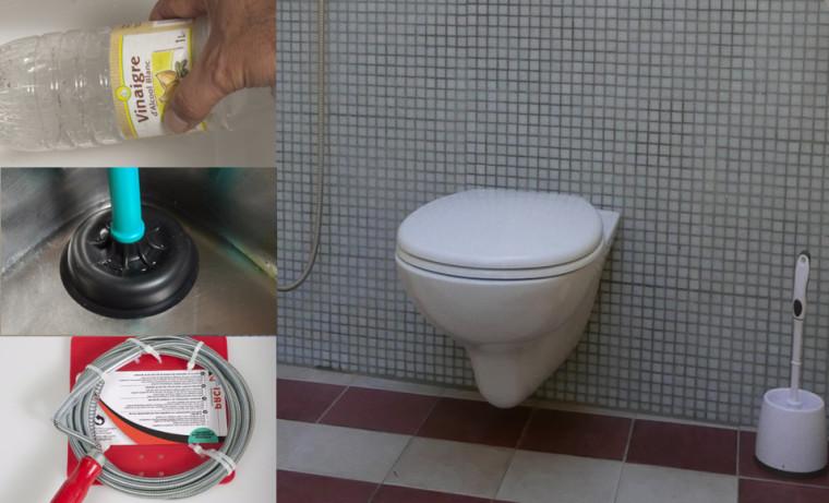 Comment déboucher une canalisation de toilette en 6 étapes simples